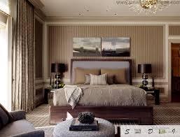 classic bedroom design. Black And Gray Combination In The Modern Classic Bedroom Interior Design E