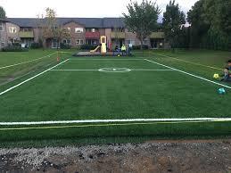 Miniature Soccer Field For Kids Alpha Turf NW