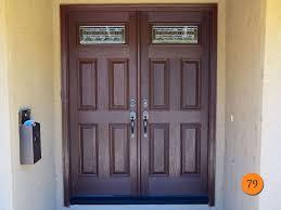 modern fiberglass entry doors. after: plastpro mahogany fiberglass model drm60 modern double entry door with artesano glass. factory doors i