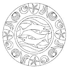 Disegno Mandala Animali 6