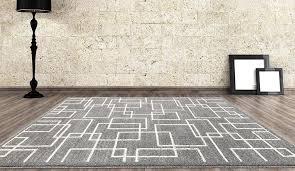 rugs area rugs 8 10 area rug carpet gray rug geometric rug modern grey geometric