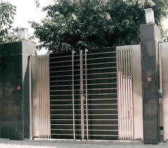 Modern Gate Pillar Design Nigerian Gates Designs Modern House Modern House