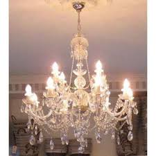 crystal chandelier 12 arms gold finish swarovski crystal