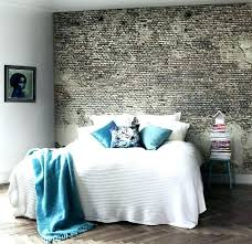 brick wall bedroom. Exposed Brick Bedroom Wall With Beautiful Walls White Accent Inspiration G