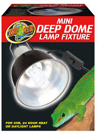 mini deep dome lamp fixture