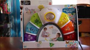 Baby Einstein Lights Melodies Discovery Center The Reluctant Reviewer And Baby Einsteins Glow And Discover Light Bar