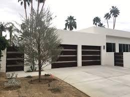 trending now modern garage doors