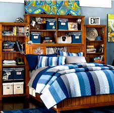 ... Mind Blowing Images Of Sport Theme Kid Bedroom Design And Decoration  Ideas : Amusing Blue Sport ...
