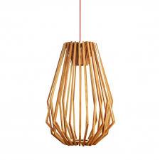 wood pendant lighting. Liora Wood Pendant Light Tall Replica Lighting W