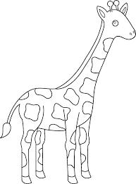 Giraffe Printable Template Corn Template Preschool Via Candy Coloring Pages Printable Giraffe