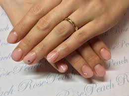 ネイル Private Beauty Salon Rose Peach