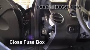 interior fuse box location chevrolet camaro  interior fuse box location 2010 2013 chevrolet camaro 2010 chevrolet camaro lt 3 6l v6