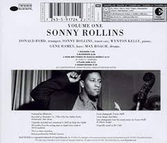 <b>Sonny Rollins</b>- <b>Volume</b> 1 (Rudy Van Gelder Edition): Amazon.co.uk ...