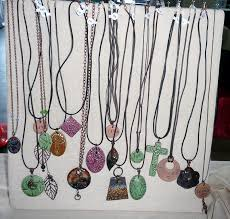 Craft Show Display Stands DIY Standing Necklace Display For Craft Shows Cotton Ridge Create 97
