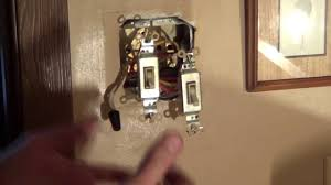 how to wire a double switch light switch wiring conduit youtube Switch Two Lights Wiring Diagram Each One Switch Two Lights Wiring Diagram Each One #57 Plug Wiring Diagram Two Lights One Switch One