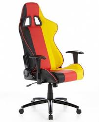 office bucket chair. Locking Racing Office Chair In Black, Red And Gold Bucket -