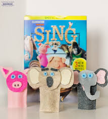 how to make these sing character inspired felt finger puppets free printable template included