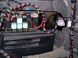 trailer wiring harness installation range rover iii l322 lm fusebox