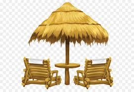 beach umbrella and chair.  Beach Creekside Bible Church Clip Art  Transparent Tiki Beach Umbrella And Chairs  PNG Clipart And Chair