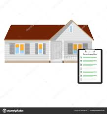 House Design Checklist Home Inspection Checklist Paper Clipboard House Home