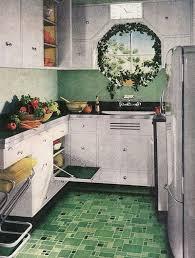 Green Kitchen Flooring - Home Design