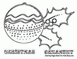 Small Picture Coloring Pages Christmas Ornaments In A Box Coloring Page Free