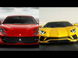 2018 ferrari 812 superfast price. contemporary 812 2018 ferrari 812 superfast vs 2017 lamborghini aventador s coupe  youtube throughout ferrari superfast price
