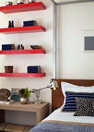 Simple, functional and space-saving floating wall shelving ideas
