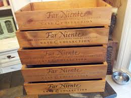 Hairy Far Niente Wine Crate Wedding Also Wedding Wine Box Etsy in Wine  Crates