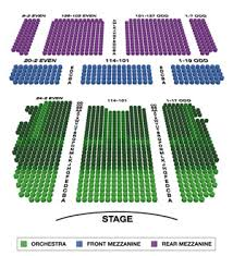 Belasco Theater Seating Chart Broadway Seating Charts
