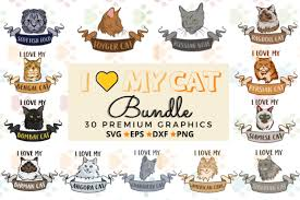 See an archive of all hey all you cool cats and kittens stories published on vulture. I Love My Cat Bundle Graphic By Graphipedia Creative Fabrica In 2020 Toyger Cat Angora Cats Bombay Cat