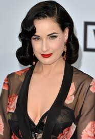 pale face makeup celebrity makeup tips dita von teese stylearabia