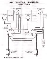 battery configuration on 3000 scr maxum boat owners club forum Dual Alternator Wiring Schematic Dual Alternator Wiring Schematic #23 Two Wire Alternator Wiring Diagram