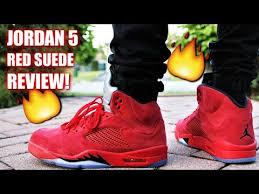 jordan 5 red suede. air jordan 5 red suede review | must have summer jordan? red suede