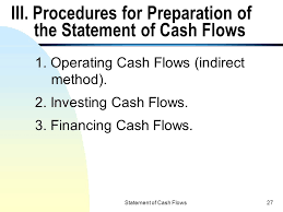 Statement Of Cash Flows Ppt Download