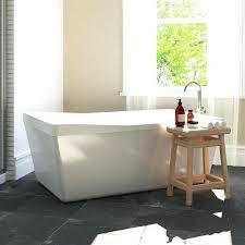 48x48 corner tub corner tub shower combo small dimensions back to wall freestanding