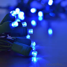 Blue Wide Angle Led Christmas Lights Buy Black Wire 5mm Wide Angle Concave Light Strings Outdoor