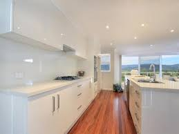 image of small galley kitchen designs ideas