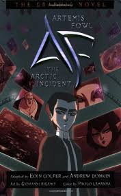 the arctic incident the graphic novel artemis fowl the graphic novels