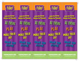 Chart House Fish Philosophy Print These Bookmarks As A Reminder To Keep The Energy Of