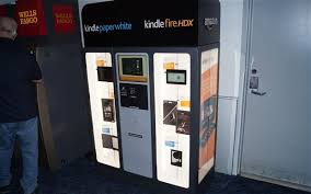 Electronic Vending Machine Locations Gorgeous Amazon Trials Kindle Vending Machines Telegraph