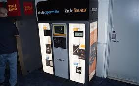 Self Service Vending Machines Mesmerizing Amazon Trials Kindle Vending Machines Telegraph