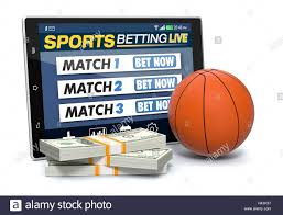 concept of online sport bets Stock Photo - Alamy