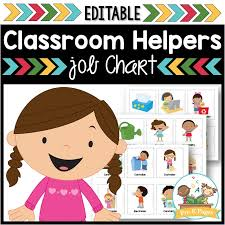 Classroom Helpers Job Kit Pre K Pages