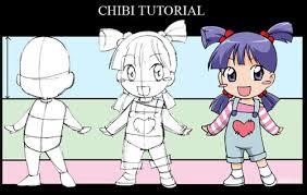 anime chibi drawing tutorial. Plain Drawing Chibi_Tutorial_by_nekoshiei How To Draw Chibi 33 Drawing Tutorials On Anime Chibi Tutorial
