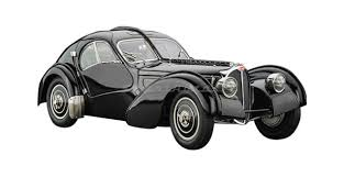One of the most bizarre, elusive and expensive of cars is the bugatti type 57sc atlantic. Cmc M 085 Bugatti Type 57 Sc Atlantic 1938 Black 1 18