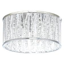 light flush crystal ceiling light with john lewis emilia drum ex john lewis lighting home