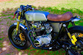 yamaha xs650 cafe racer by magnum opus