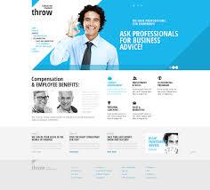Marquee Website Design Website Template 42904 Throw Business Marquee Custom