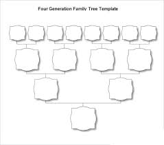 free familytree maker template family tree template word free download pedigree family